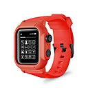 cheap Headsets & Headphones-Case For Apple Apple Watch Series 4 Silicone Apple