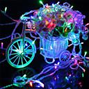 billige Smykkesæt-1 sæt led snorlys 20m batteriboks lanterner gypsophila freflies lys star lights nat lys juletræ lys