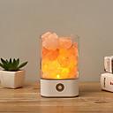 cheap Car Headlights-1pc USB Crystal Light Natural Himalayan Salt Lamp Air Purifier Mood Creator Indoor Warm Light Table Lamp For Bedroom Lava Lamp