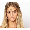 halpa Hiuskorut-Naisten Vintage Tyylikäs Metalliseos Hiusten hurmaa Yhtenäinen