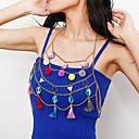 ieftine Breloc-Pentru femei Bijuterii de corp 60 cm Corp lanț / burtă lanț Auriu / Argintiu Aluminiu / Teracotă Costum de bijuterii Pentru Cadou / Club Vară