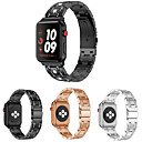 voordelige Apple Watch-bandjes-Horlogeband voor Apple Watch Series 4/3/2/1 Apple Klassieke gesp Metaal Polsband