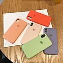 olcso iPhone tokok-Case Kompatibilitás Apple iPhone XS Max / iPhone 6s Ütésálló Fekete tok Egyszínű Puha Silica Gel mert iPhone XS / iPhone XR / iPhone XS Max