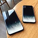 رخيصةأون أغطية أيفون-غطاء من أجل Apple iPhone XS / iPhone XR / iPhone XS Max مرآة غطاء خلفي سماء قاسي زجاج مقوى