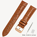 cheap Game Consoles-Genuine Leather / Leather / Calf Hair Watch Band Strap for Black / Brown 17cm / 6.69 Inches / 18cm / 7 Inches / 19cm / 7.48 Inches 1.2cm / 0.47 Inches / 1.4cm / 0.55 Inches / 1.6cm / 0.6 Inches