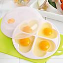ieftine Imprimeu-PP (Polipropilenă) Mold DIY Instrumentul de coacere Reparații Instrumente pentru ustensile de bucătărie pentru ou 1 buc