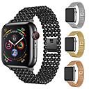 halpa Apple Watch-hihnat-Watch Band varten Apple Watch Series 4 Apple Moderni solki Metalli / Ruostumaton teräs Rannehihna