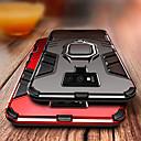 Недорогие Чехлы и кейсы для Galaxy S6-Кейс для Назначение SSamsung Galaxy S9 / S9 Plus / S8 Plus Защита от удара / Кольца-держатели Кейс на заднюю панель броня Твердый ПК