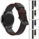 رخيصةأون Smartwatch كابلات وشواحن-حزام إلى LG G Watch W100 / LG G Watch R W110 / LG Watch Urbane W150 LG عصابة الرياضة جلد / نايلون شريط المعصم