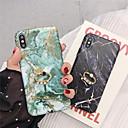 رخيصةأون أغطية أيفون-حالة لتفاح iphone xr / iphone xs max نمط / حلقة حامل الغطاء الخلفي الرخام لينة tpu آيفون 6 6 زائد 6 ثانية 6 ثانية زائد 7 8 7 زائد 8 زائد x xs