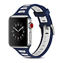 preiswerte Apple Watch Armbänder-Uhrenarmband für Apple Watch Serie 4/3/2/1 Apple Modern Buckle / Sportband Silikonarmband