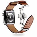 رخيصةأون شواحن لاسلكية-حزام إلى أبل ووتش سلسلة 5/4/3/2/1 Apple بكلة كلاسيكية جلد طبيعي شريط المعصم