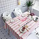 abordables Utensilios de cocina y Gadgets-Moderno Casual Algodón fibra de poliéster Cuadrado Forros de Mesa Estampado Vacaciones Ecológica Resistente al Agua Decoraciones de mesa
