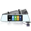 economico Kit auto bluetooth/Sistemi Hands-Free-MK-A6 Automobile DVR 170 Gradi Angolo ampio 10 pollice Dash Cam con Visione notturna / Registratore / ADAS Registratore per auto