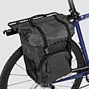 baratos Fitas e Mangueiras de LED-ROSWHEEL 15 L Bolsa para Bicicleta Grande Capacidade Prova-de-Água Durável Bolsa de Bicicleta Tecido 300D poliéster Bolsa de Bicicleta Bolsa de Ciclismo Ciclismo Bicicleta de Estrada Bicicleta De