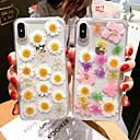 رخيصةأون واقيات شاشات أيفون 8-غطاء من أجل Apple iPhone XS / iPhone XR / iPhone XS Max حامل البطاقات غطاء خلفي زهور ناعم سيليكون