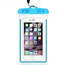 رخيصةأون أغطية أيفون-غطاء من أجل عالمي عالمي مقاوم للماء حقيبة صغيرة ضد الماء لون سادة ناعم PVC