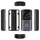 billige Video Dørtelefonsystemer-trådløs 2,4 gHz / wifi ingen skærm (output via app) telefon en til en video dørtelefon