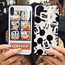 رخيصةأون أغطية أيفون-غطاء من أجل Apple iPhone XS / iPhone XR / iPhone XS Max نموذج غطاء خلفي كارتون قاسي زجاج مقوى