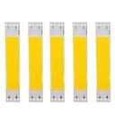 ieftine LED-uri-5pcs LED-uri margele lampa albastru alb cald 9v 5w lampă cob lampă sursa de iluminare 100mm * 20mm accesorii de iluminat