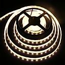 billige LED-stribelys-kwb 50cm fleksible led lysstrimler 30 leds smd5050 hvid / varm hvid fest / egnet til køretøjer / tv baggrund 5 v 1 sæt