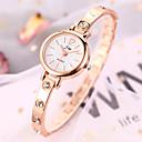 ieftine Ceasuri Damă-Pentru femei Ceas Brățară Quartz Stl Argint / Auriu imitație de diamant Analog Modă Elegant - Auriu+Roșu Argintiu / alb Silver-Rose