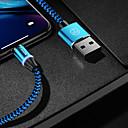 ieftine Cabluri & Adaptoare-casemă tip-c cablu încărcător magnetic telefon cablu de încărcare rapidă led 1.0m (3ft) nailon împletit pentru samsung / huawei / sony / xiaomi / oppo / vivo