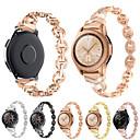 رخيصةأون أساور ساعات لهواتف سامسونج-حزام إلى Samsung Galaxy Watch 46 / Samsung Galaxy Watch 42 Samsung Galaxy بكلة كلاسيكية معدن شريط المعصم