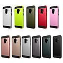 Недорогие Чехлы и кейсы для Galaxy S6 Edge-Кейс для Назначение SSamsung Galaxy S9 Защита от пыли / Матовое Кейс на заднюю панель Однотонный ПК