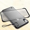 رخيصةأون أغطية أيفون-غطاء من أجل Apple iPhone XS / iPhone XR / iPhone XS Max نحيف جداً / شفاف غطاء خلفي لون سادة قاسي الكمبيوتر الشخصي
