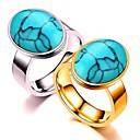 ieftine Inele-Pentru cupluri Inele Cuplu / Inel 1 buc Auriu / Argintiu Teak Circular De Bază / Modă Cadou / Zilnic / Promisiune Costum de bijuterii / Inimă