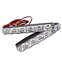 ieftine Lumini de Ceață Mașină-2pcs 6-condus pe timp de zi lumina de funcționare drl lampă de ceață zi lumini zi 12v pentru toate masina