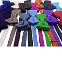 رخيصةأون ربطات عنق-ببيونة لون سادة للجنسين حفلة / عمل / أساسي