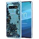 رخيصةأون حافظات / جرابات هواتف جالكسي S-غطاء من أجل Samsung Galaxy S9 / S9 Plus / Galaxy S10 ضد الصدمات / شفاف / نموذج غطاء خلفي زهور ناعم TPU