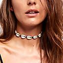 preiswerte Halsketten-Damen Halsketten Kragen Geflochten Seil Hülle Böhmische Natur Modisch schnurr Hülle Weiß 35 cm Modische Halsketten Schmuck 1pc Für Alltag Festtage