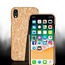 رخيصةأون أغطية أيفون-غطاء من أجل Apple iPhone XS / iPhone XR / iPhone XS Max ضد الصدمات غطاء خلفي خشب قاسي خشبي