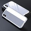 رخيصةأون أغطية أيفون-الحال بالنسبة لتفاح iphone 6 / iphone xs max الغطاء الخلفي شفافة صلبة ملونة الزجاج المقسى ل iphone 6 / iphone 6s / iphone 6s plus