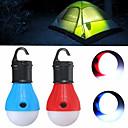 رخيصةأون وسائد-Lanterns & Tent Lights صغير قياس صغير 60 lm LED بواعث 3 إضاءة الوضع صغير حالة طوارئ قياس صغير Camping / Hiking / Caving Everyday Use متعددة الوظائف أصفر أخضر أحمر