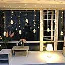 ieftine Becuri Solare LED-2.5m Fâșii de Iluminat 8 LED-uri Alb Cald Decorativ 220-240 V 1set