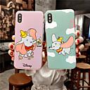 رخيصةأون أغطية أيفون-غطاء من أجل Apple iPhone XS / iPhone XR / iPhone XS Max IMD / نحيف جداً / نموذج غطاء خلفي حيوان / كارتون TPU