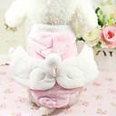 ieftine Imbracaminte & Accesorii Căței-Pisici Câine Haine Îmbrăcăminte Câini Gri Trandafiriu Bumbac Costume Pentru Iarnă
