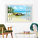 رخيصةأون ملصقات ديكور-ملصقات الحائط البحر - ملصقات الحائط الحيوانات / غرفة الدراسة المناظر الطبيعية / مكتب / غرفة الطعام / المطبخ