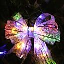 رخيصةأون شرائط ضوء مرنة LED-4 متر 40 led الخرز الشريط أدت سلسلة الدانتيل عيد الميلاد شجرة حزب مهرجان ديكور القوس مربع جنية ضوء الليل عيد الميلاد
