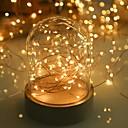ieftine Fâșii Becurie LED-LOENDE 5m Fâșii de Iluminat 50 LED-uri Alb Cald / RGB / Alb Petrecere / Decorativ / Nuntă Baterii alimentate