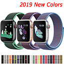 billige Apple Watch-remmer-nylonrem for apple watch band 44mm 40mm 42mm 38mm sport loop belte armbånd for apple watch series 5/4/3/2/1 tilbehør