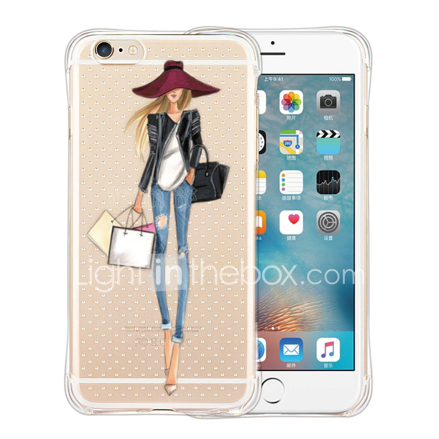1b840927293 Funda Para iPhone 5 / Apple Funda iPhone 5 Antigolpes / Transparente ...