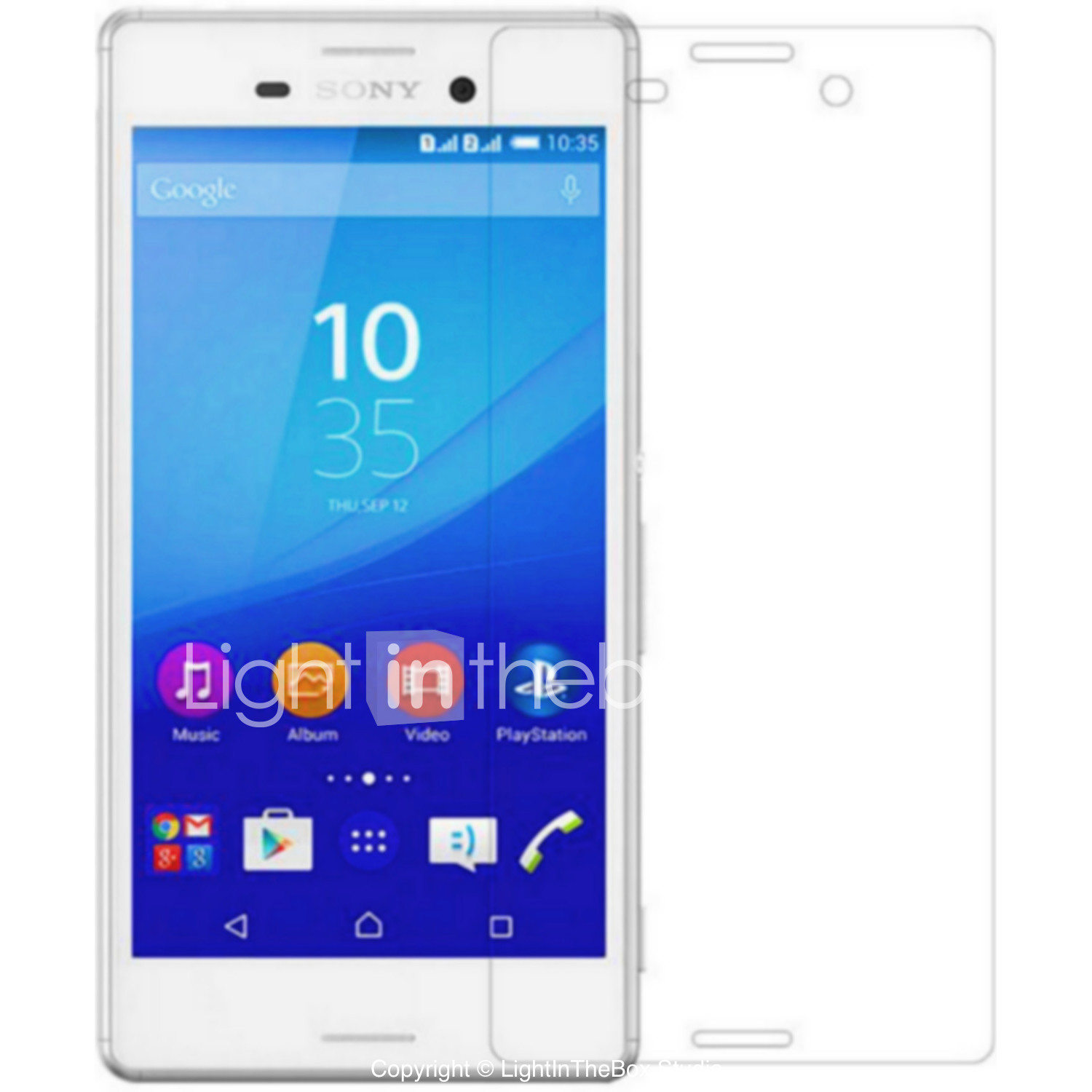 Screen Protector for Sony Sony Xperia Z5 Premium / Sony Xperia Z5 / Sony Xperia XA PVC 1 pc Front Screen Protector Mirror #05193105