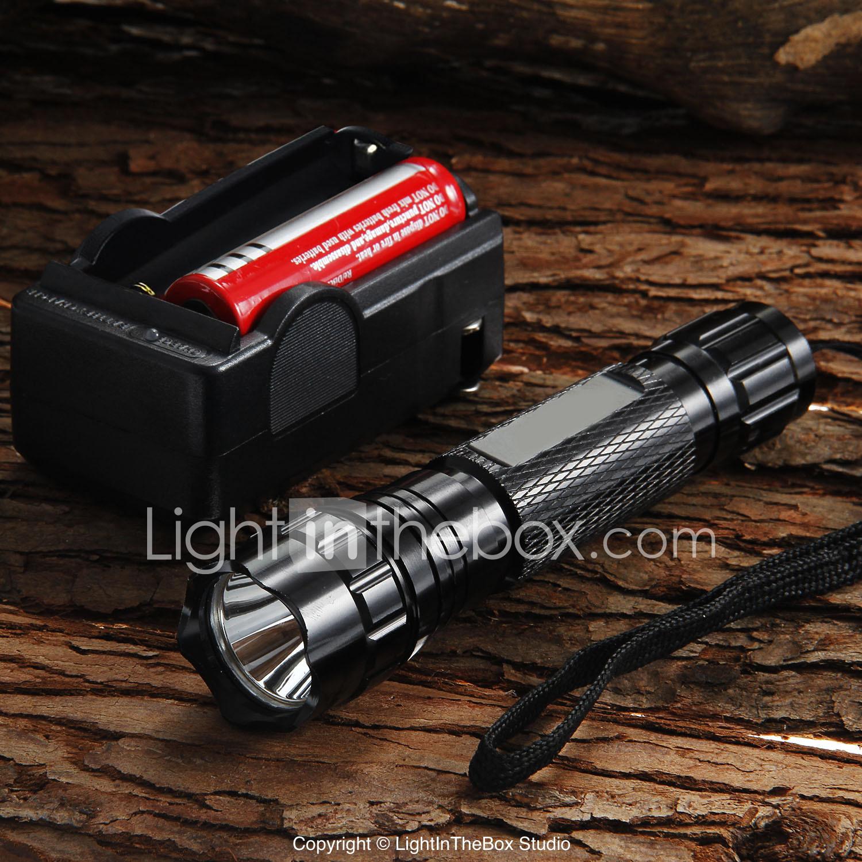 UltraFire LED Flashlights / Torch 1200 lm LED LED 1 Emitters