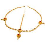 591b91429c8 levne Ozdoby do vlasů-Dámské Módní   Elegantní Křížem Řetízek Pozlacené