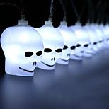 billiga -2m Ljusslingor 20 lysdioder Vit Dekorativ AA Batterier Drivs 1set